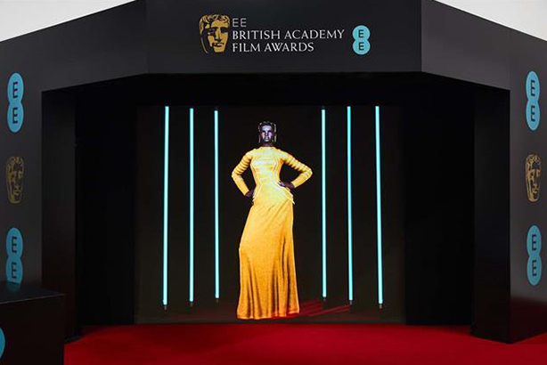 EE shows off 5G network at Baftas with 'world's first' AI stylist