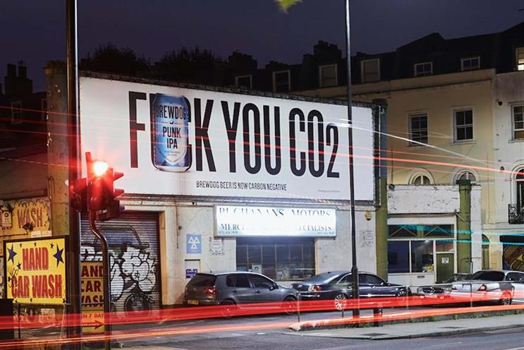 Controversial: an ad celebrating BrewDog's carbon-negative status fell foul of Advertising Standards Authority rules