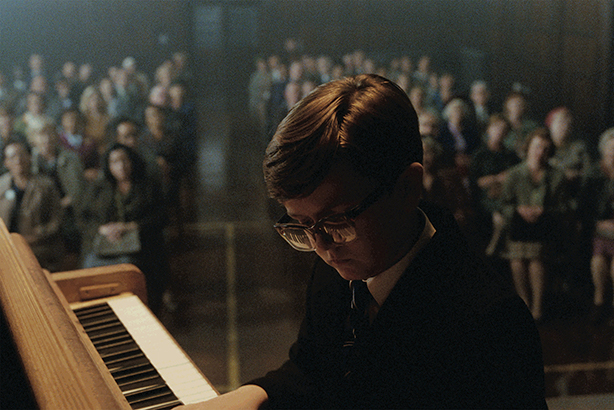 Elton John performs at a school recital in this year's John Lewis Christmas campaign