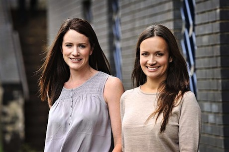 Emma-Jo Jones (left) and Holly Ward (right): Have set up The Forge