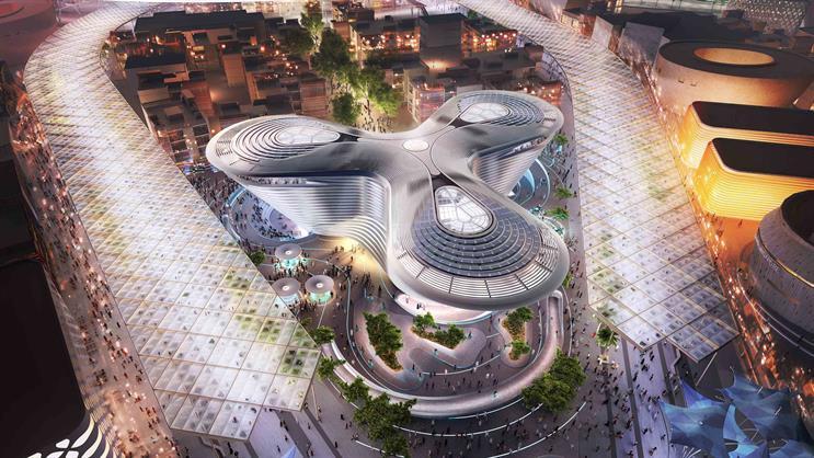 Artist's impression of the Dubai EXPO 2020 site (via expo2020dubai.com)
