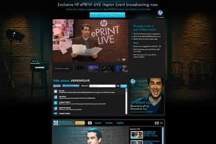 Launch event: HP eprint Live