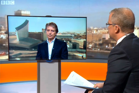 Councils condemned: Iceland CEO Malcolm Walker on BBC show