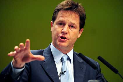 Nick Clegg: 'Too often it's who you know that counts'