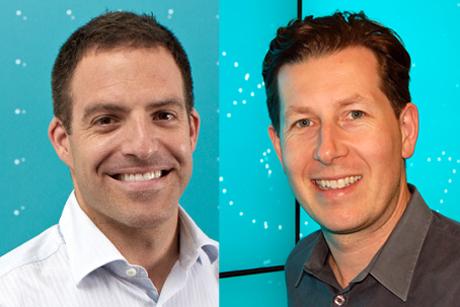 EE promotions: Dan Perlet and Mat Sears