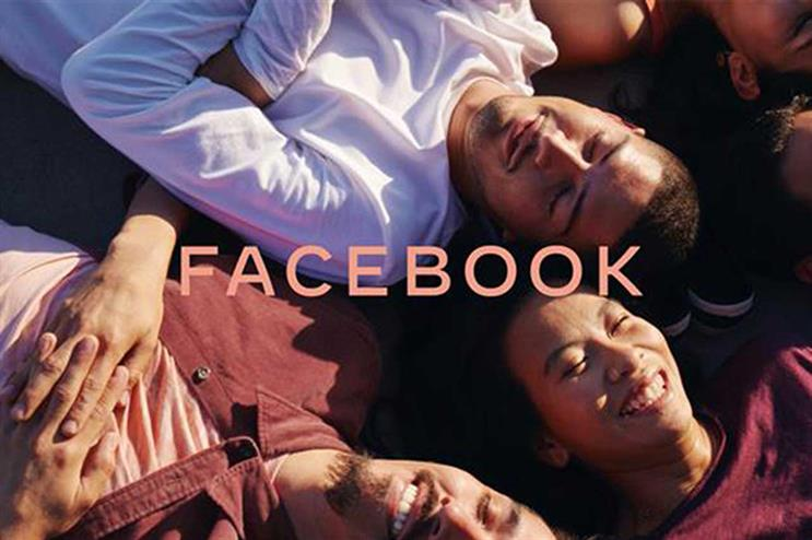 Facebook: unveiled new look amid political advertising debacle