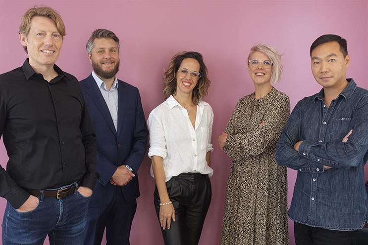 Fanclub PR's board (L-R): Paul Lucas, Paul Allen, Amy Hall, Davnet Doran and Adrian Ma