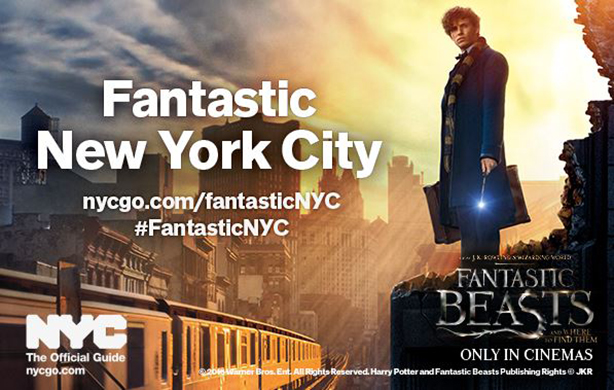 New York hopes Fantastic Beasts will lure tourists to #FantasticNYC