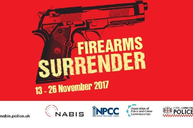 National Firearms Surrender: The scheme aims to cut gun crime