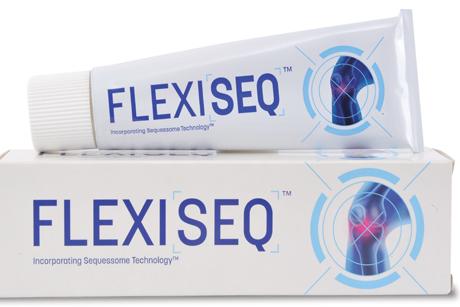 FLEXISEQ: Aimed primarily at the UK's nine million sufferers of osteoarthritis