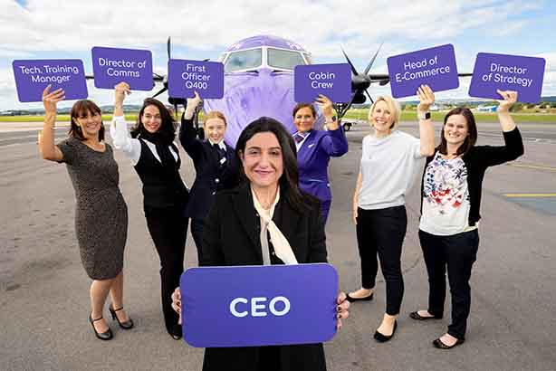 Flybe targets gender imbalance in aviation with launch of 'FlyShe' programme