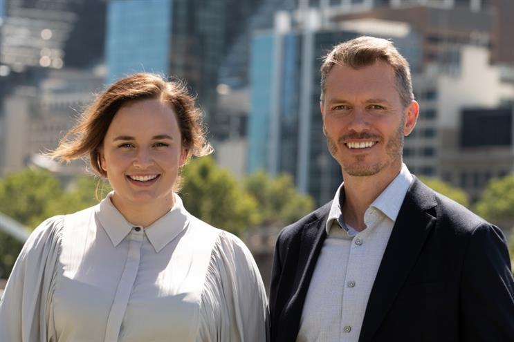 From left: Amy Watson & Scott Thomson
