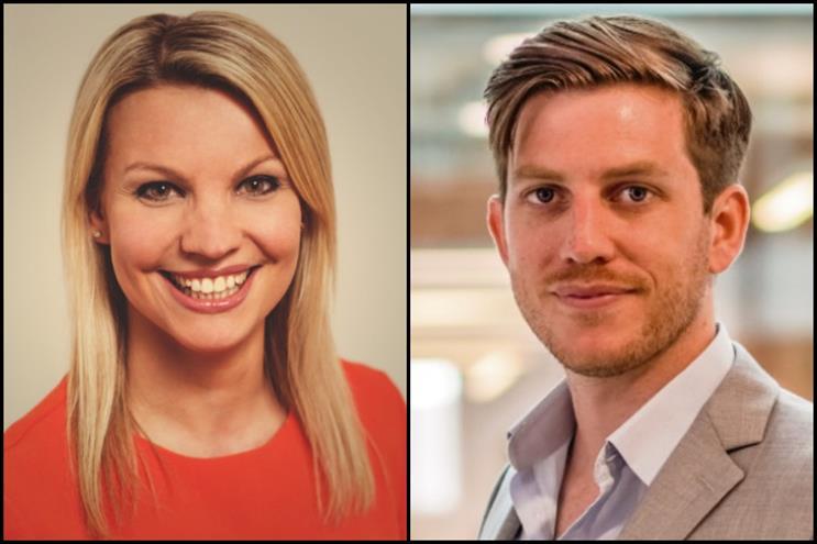 From left: Sophie Asker & Dan Blomfield