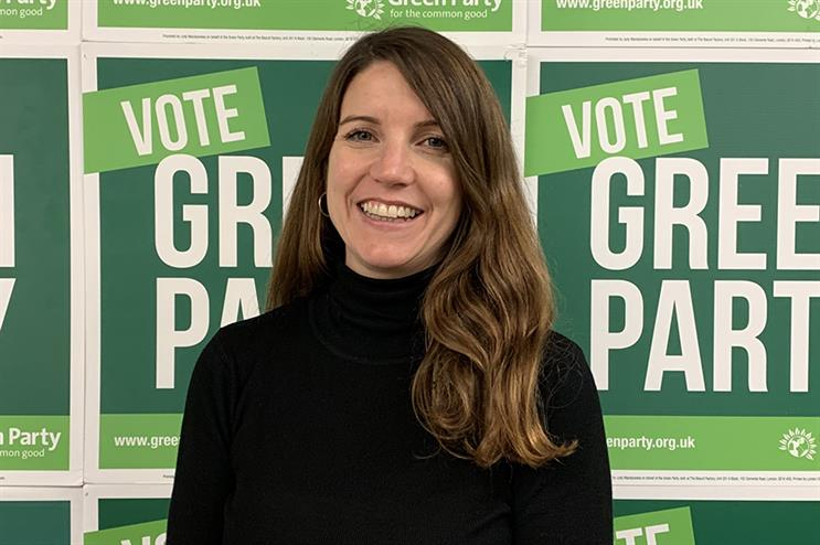 Gemma Walker, head of comms at the Green Party, hopes to capitalise on the 'Green Wave' ahead of the next general election