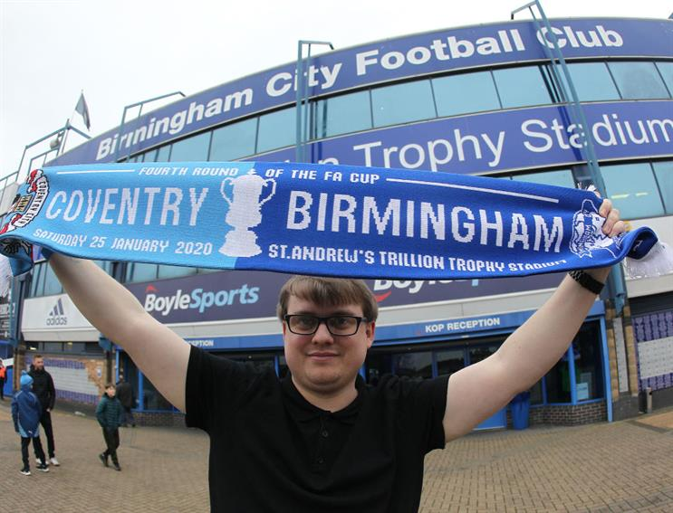 Birmingham City's St Andrew's Trillion Trophy Stadium during the FA Cup Fourth Round match against Coventry City last year (Photo by Mick Walker – CameraSport via Getty Images)