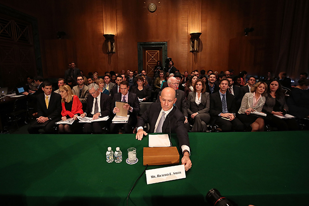 Former Equifax CEO Richard Smith. Image source: Getty