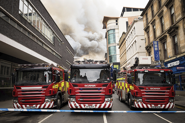 Which are the most successful fire and rescue services on social media? (Pic credit: Getty images)