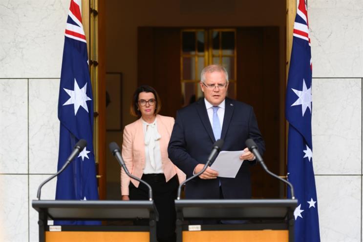 Australian PM Scott Morrison has been criticised for his handling of the bushfire crisis