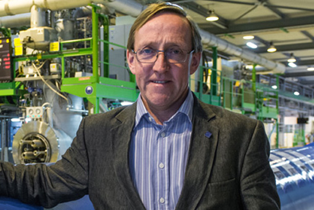 James Gillies: head of communications at CERN