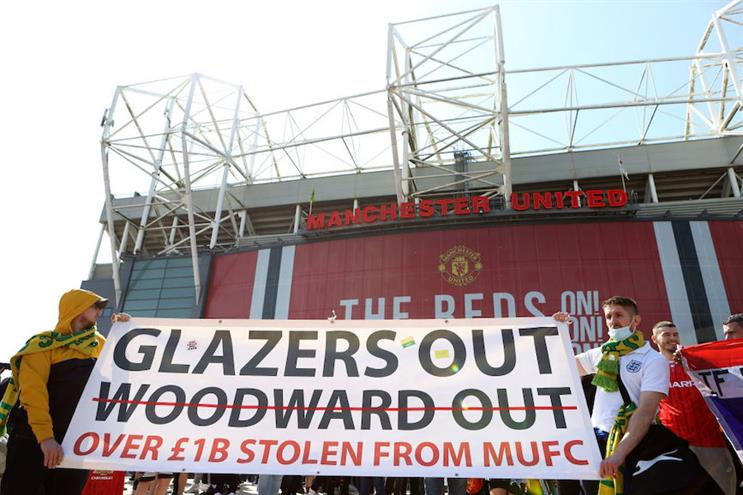 Manchester United owners the Glazers were prime movers in the abortive European Super League. (Pic: Getty Images.)