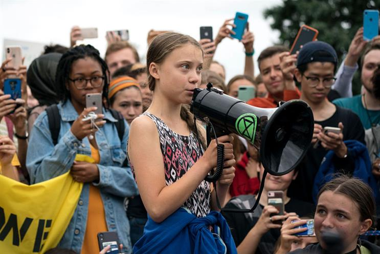 Swedish activist Greta Thunberg has inspired a global climate strike backed by PR leaders. (Photos: Getty Images)