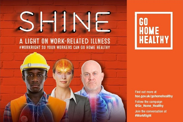 HSE's Go Home Healthy campaign shines a light on workplace illness