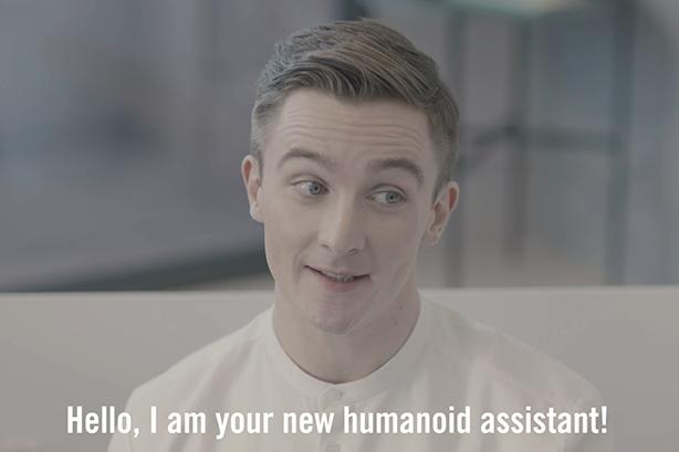 Watch: Creepy Google robot stars in Amnesty's latest #DropDragonfly spot