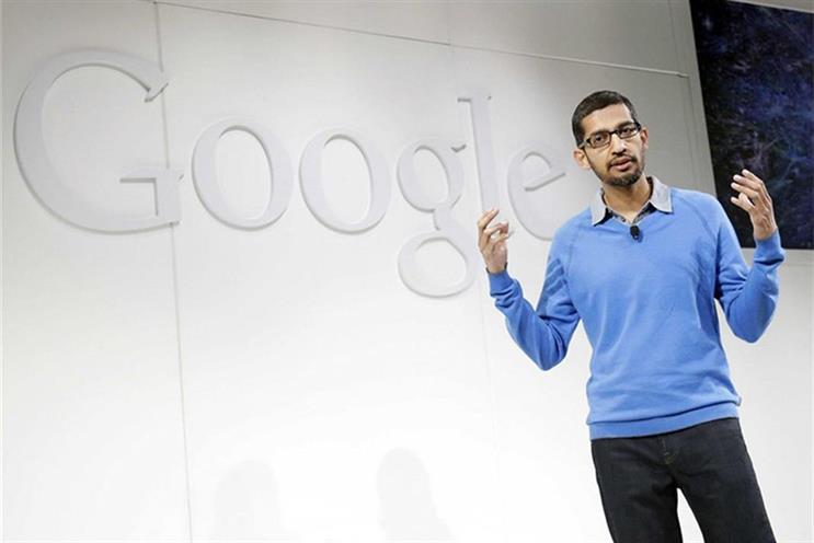 Pichai: said Google would scale back 'non-business essential marketing'