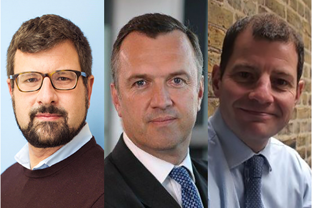 (l-r) Charles Gorman, Rob Bailhache and Nick Henderson