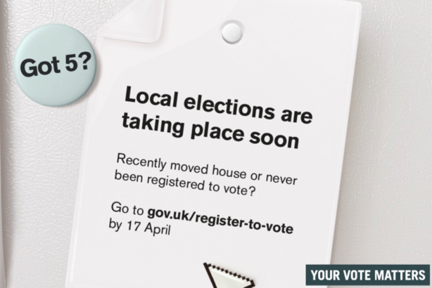 St Albans is using the Electoral Commission's visual assets to help encourage voter registration