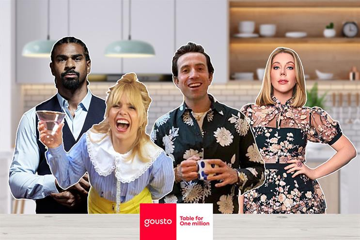 Gousto enlists Nick Grimshaw to host online dinner party