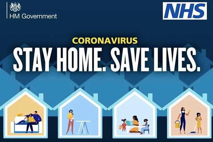 Coronavirus ad: withdrawn on Thursday