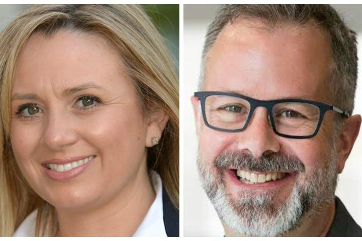Ambassadors: Nicola Green of O2 and Omnicon Public Relations Group's David Gallagher