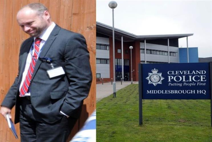 Green, pictured above, resigned from his job after being arrested and charged with making indecent images of children (pic credit: Teesside Live)