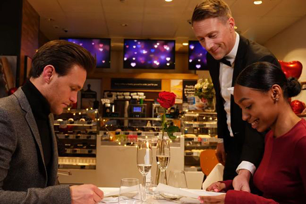 Greggs to become candlelit-dinner restaurants for Valentine's Day through OpenTable
