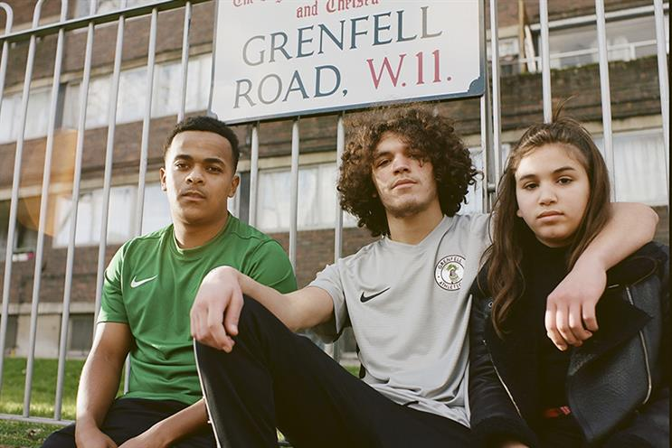 Grenfell Athletic FC's new home (green) and away (pewter) kits (Photos: Sebastian Barros)