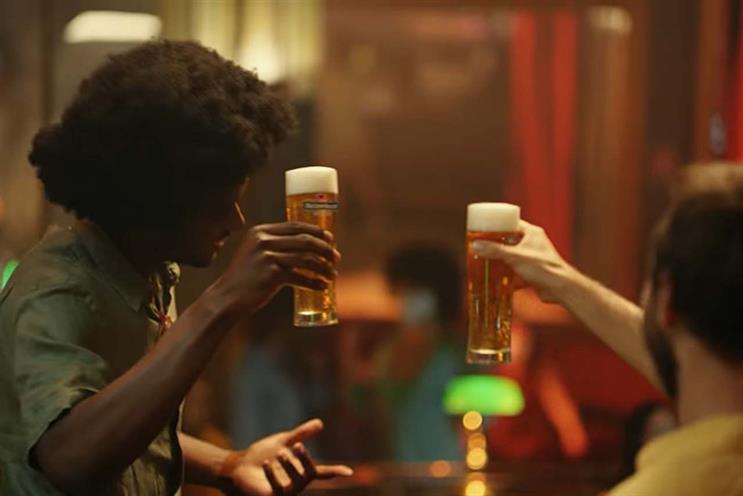 Cheers: Publicis Groupe clients include Heineken