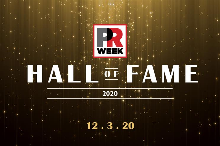 PRWeek US names 2020 Hall of Fame class