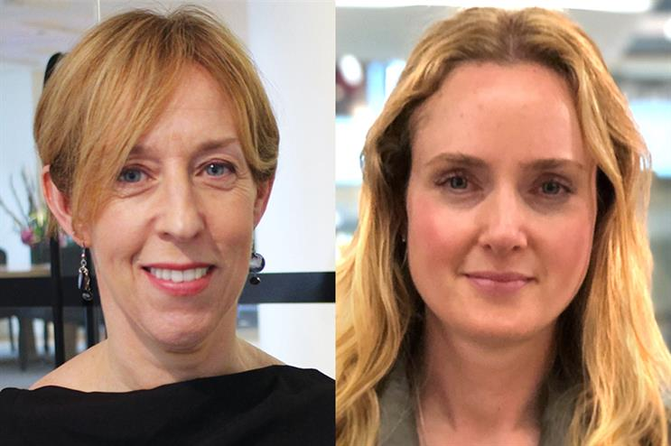 Kate Hawker (left) and Lucie Harper (right) have joined W20 Group