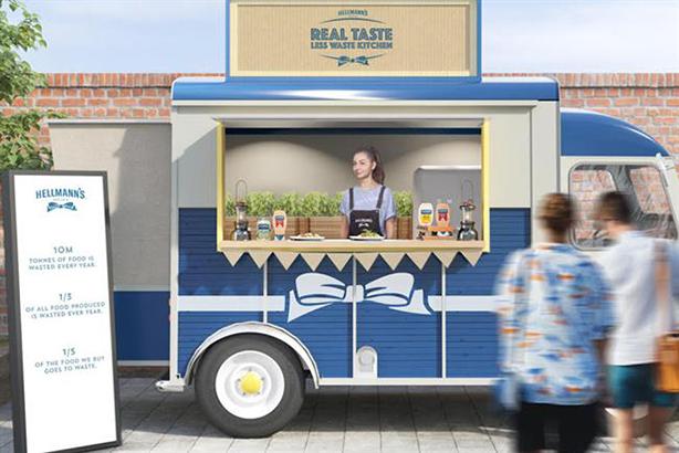 Hellmann's: shining spotlight on food waste