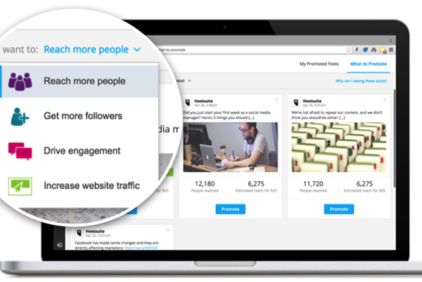 Hootsuite's new tool makes it easy for 'anyone' to promote Facebook posts