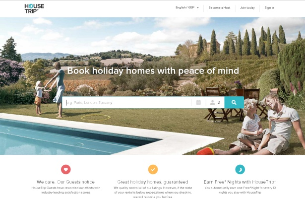 HouseTrip.com: aiming to become leader in holiday rentals