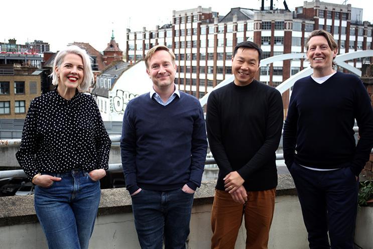 Humankind founders (L-R): Davnet Doran, Dan Thomas, Adrian Ma and Paul Lucas