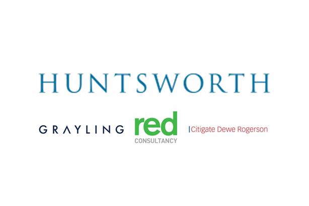 Revenue dips 5.1 per cent at Huntsworth PR shops in 2018, Grayling down 7.6 per cent