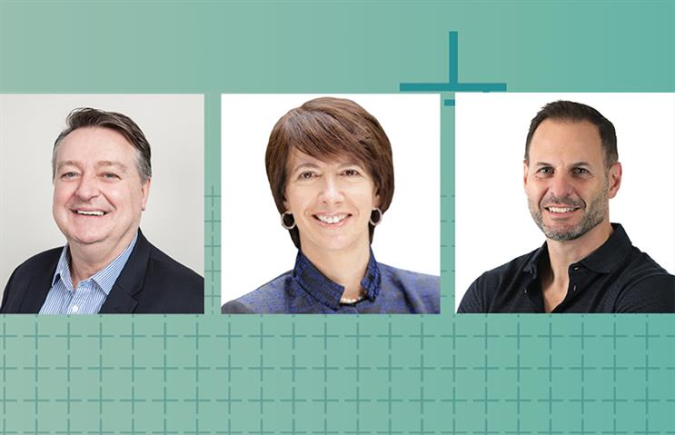 L-R: IPG Health's John Cahill, Dana Maiman and Michael Guarino.