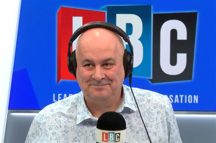 LBC presenter Iain Dale has criticised Public Health England for failing to appear on his programme