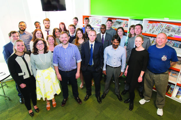 PRWeek UK Awards 2015: In-House Team of the Year (Gold Award)