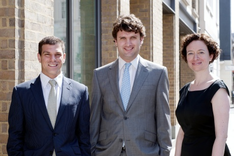 Incisive founders: Bill Morgan, Mike Birtwistle and Sarah Winstone