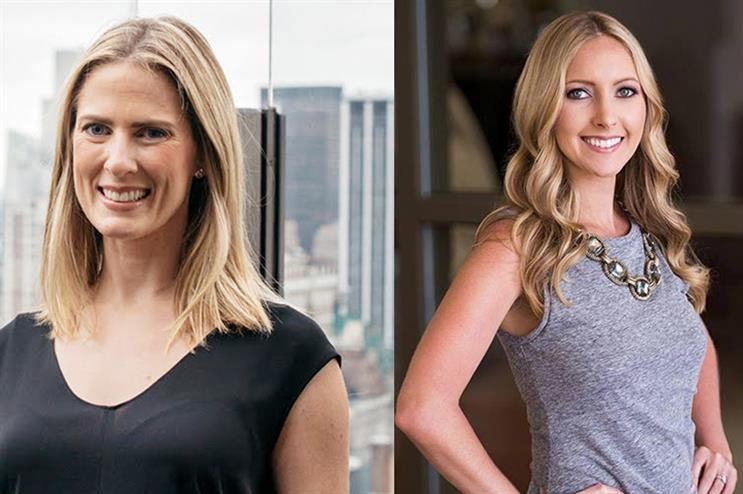 L-R: New office leaders Kristin Moller and Heidi Doak