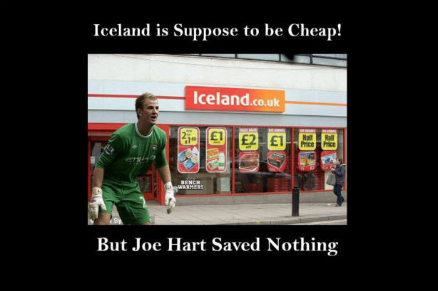Iceland (the supermarket) wins big on social media after minnows defeat England